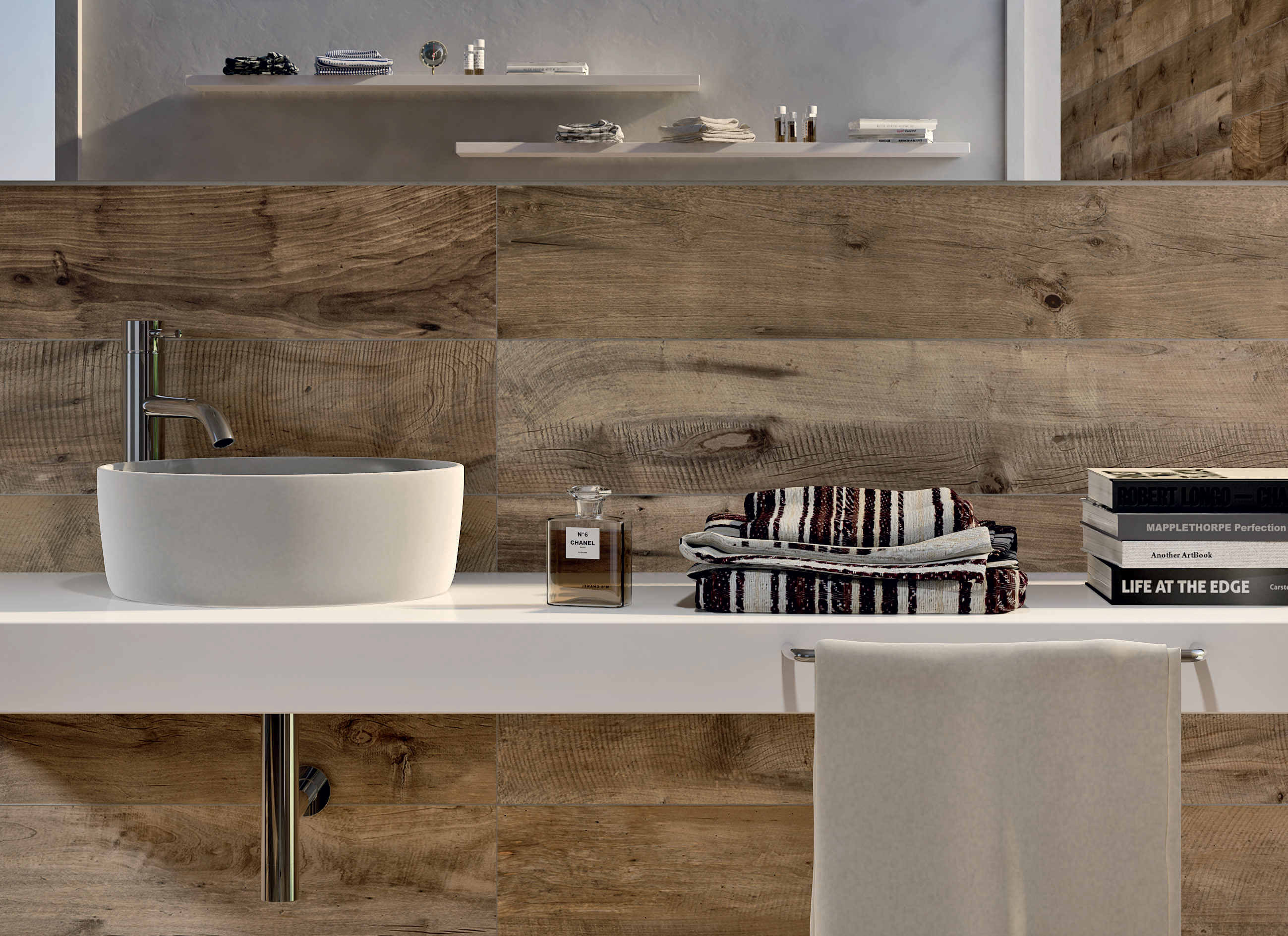 Flaviker - Dakota Wood-effect tile available from Real Stone & Tile (www.realstoneandtile.co.uk - 0161 485 1373)