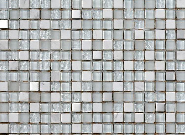 Lagos White Mosaic Tiles
