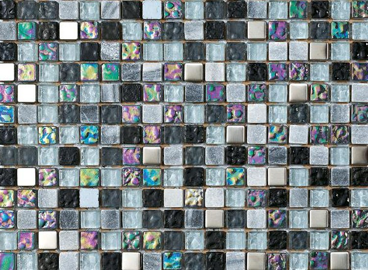Lagos Black Mosaic Tiles