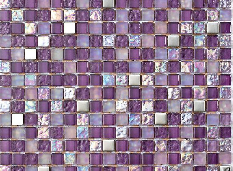 Lagos Lilac Mosaic Tiles