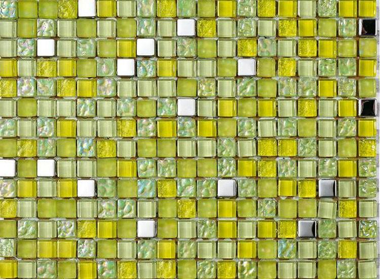 Lagos Lime Mosaic Tiles