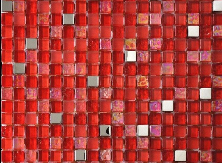 Lagos Red Mosaic Tiles
