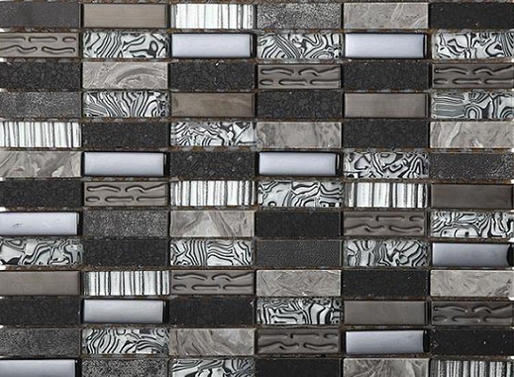 Zebra Mosaic Tiles