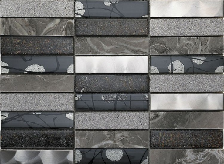 Artist Grey Mosaic Tiles
