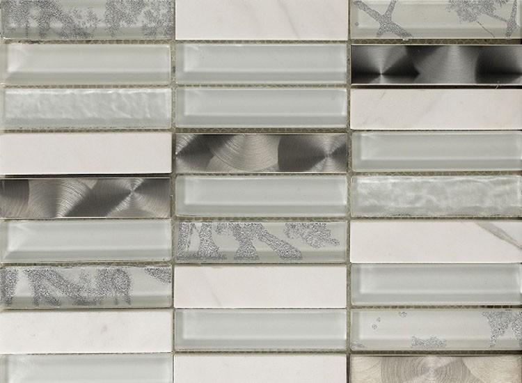 Artist White Mosaic Tiles