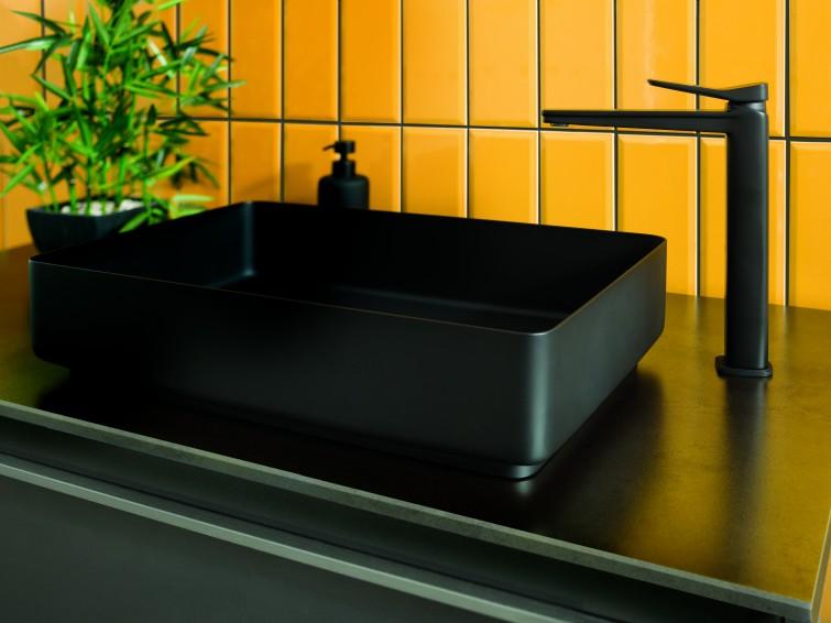 Just Taps Brushed Black sink